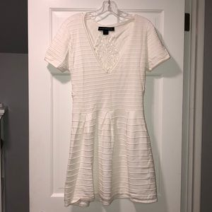 Like New FRENCH CONNECTION white Dress